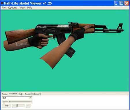 Model Viewer CS 1.6