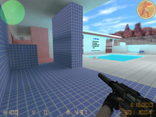 Counter-strike 1. 6 in minecraft! Fy_pool_day minecraft project.