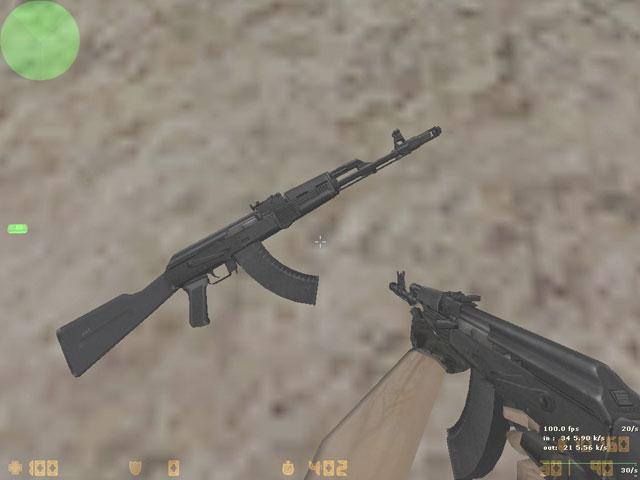 Скачать модель AK-47 - AK-103