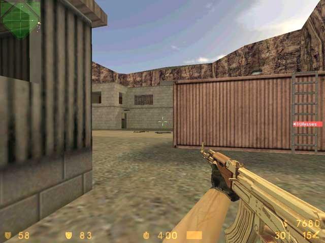 Скачать Позалоченый АК-47