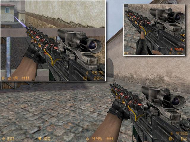Новая модель оружия авп из игры