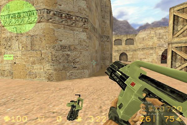 AK47 - Green Famas