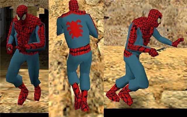 Человек паук модель gign