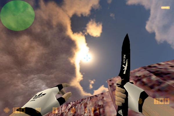 Скачать модель ножа shadow daggers для кс 1. 6.