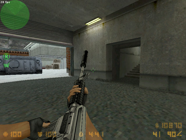 Спецназ модель M4A1