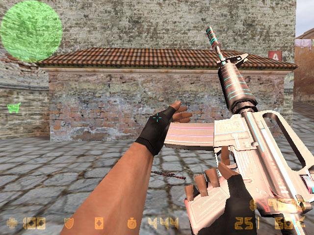 Как самому создать модель оружия в кс 16